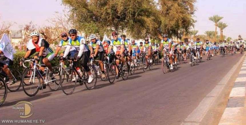 المبادرة العالمية لركوب الدراجات تنظم مبادرة للمبتدئين بالمعادي