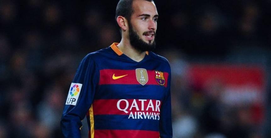 برشلونة يعلن رحيل أليكس فيدال إلى إشبيلية