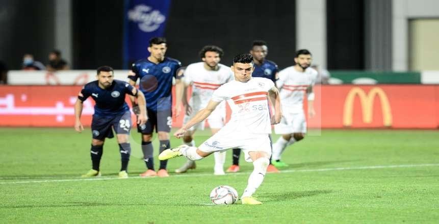 جدول ترتيب هدافي الدوري المصري قبل انطلاق منافسات الجولة 22