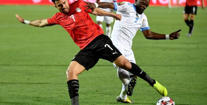 تريزيجيه أفضل لاعب في مباراة مصر والكونغو بأمم أفريقيا