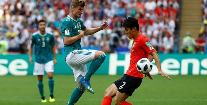 صور مباراة ألمانيا وكوريا