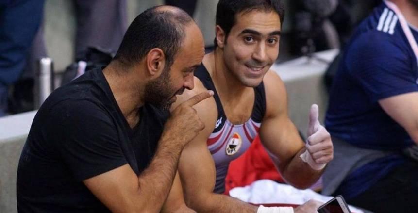 إيهاب أمين: «أبو القاسم» يقترب من التأهل للأوليمبياد بعد إنجاز بطولة العالم للجمباز