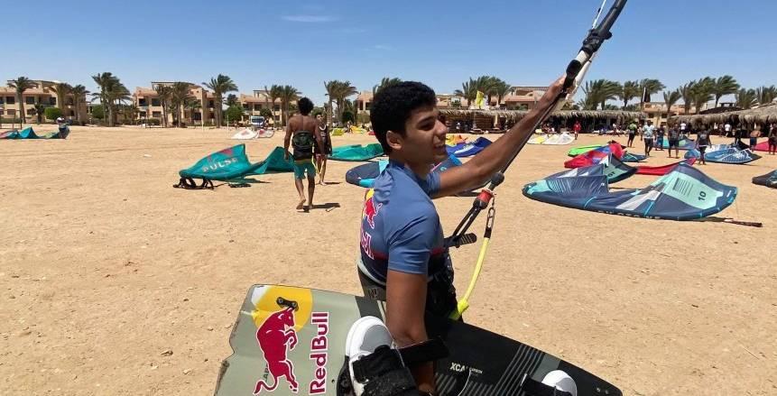 عمر مدرك لاعب الشراع: أخطط لحصد ميدالية أولمبية
