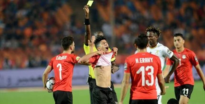 عمار حمدي: مستعد للمشاركة مع مصر في حراسة المرمى