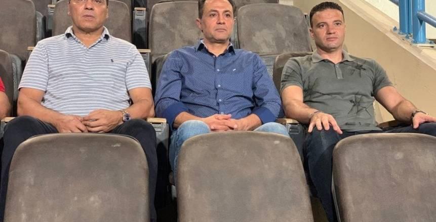 جهاز المنتخب الوطني يتابع مباراة بيراميدز ووادي دجلة