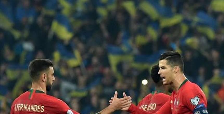 البرتغال تقسو على أذربيجان بثلاثية في غياب كريستيانو رونالدو
