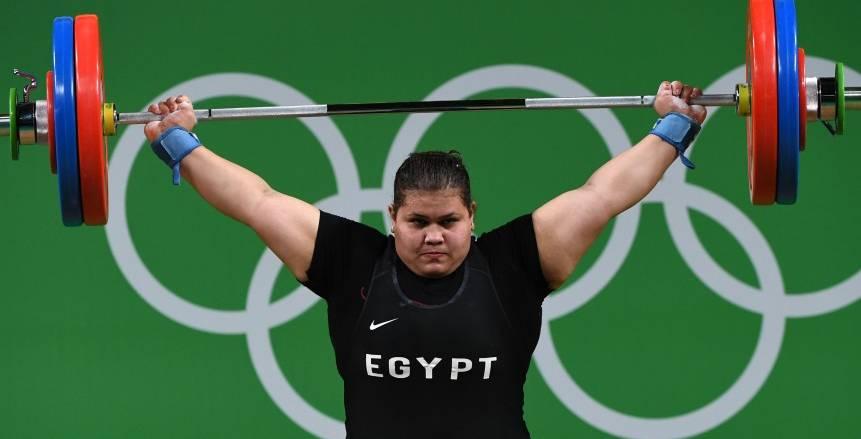 شيماء خلف تحصد المركز الرابع في منافسات رفع الأثقال