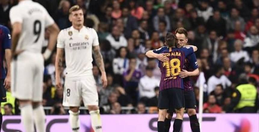 الكلاسيكو كتالوني للمرة الثانية في 3 أيام.. برشلونة يسقط ريال مدريد