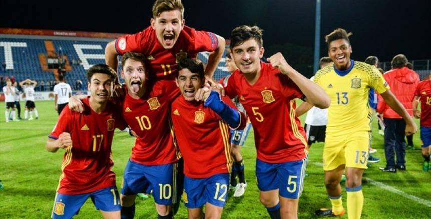 بركلات الجزاء المعدلة .. اسبانيا تحسم بطولة أوروبا للناشئين للمرة التاسعة