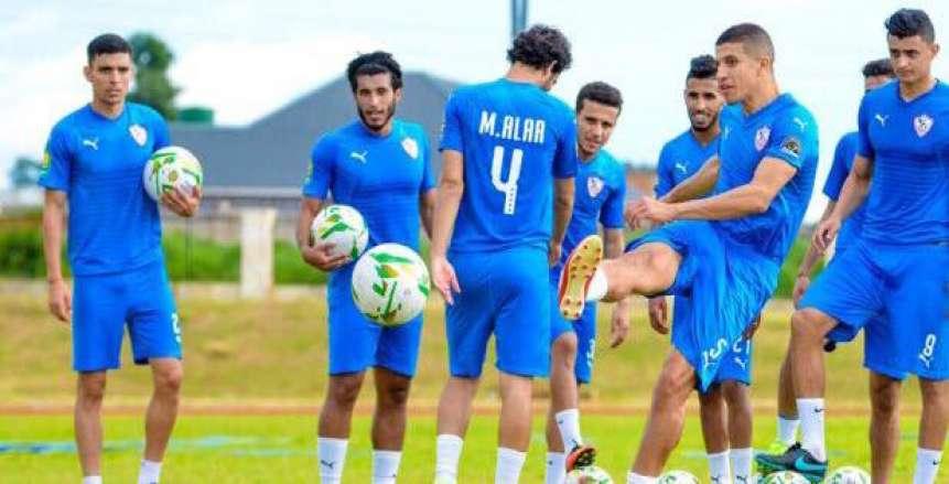 اللاعبون سبب طلب الزمالك نقل مباراة زيسكو لاستاد القاهرة