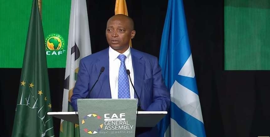 رسميًا.. فوز باتريس موتسيبي برئاسة الاتحاد الإفريقي لكرة القدم