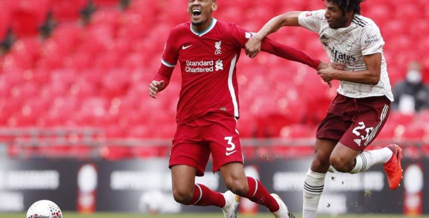 محمد النني بديلا في تشكيل أرسنال ضد شيفيلد يونايتد بالدوري الإنجليزي