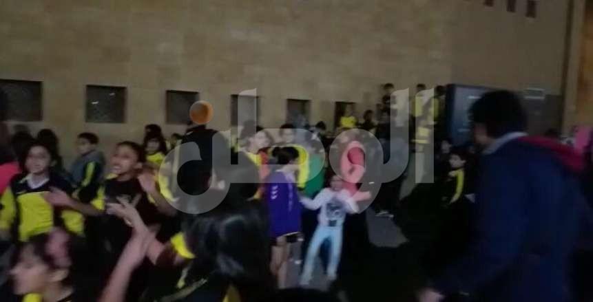 بالصور .. اعتصام ضد مجلس إدارة وادي دجلة في 6 أكتوبر بسبب إلغاء نشاط اليد