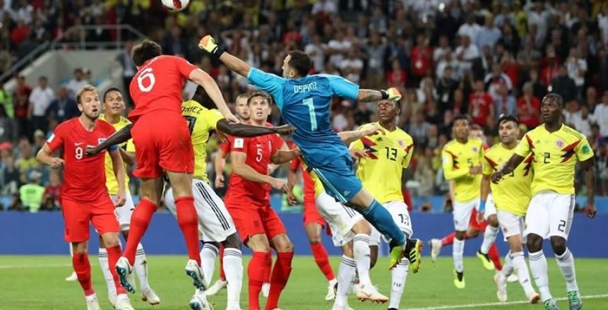 بالفيديو| إنجلترا إلى ربع نهائي المونديال بعد انتصار بشق الأنفس على كولومبيا