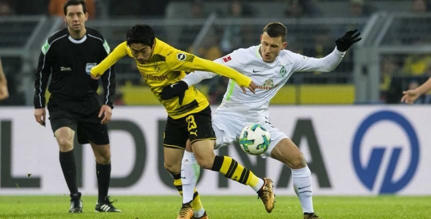 فيردر بريمن يواصل تحقيق الانتصارات ويتخطي بروسيا دورتموند المتراجع في البوندسليجا