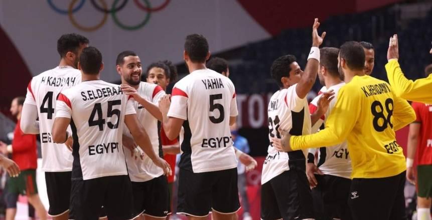 منتخب مصر لكرة اليد يغلق صفحة البرتغال ويدرس الدنمارك بـ«الفيديو»