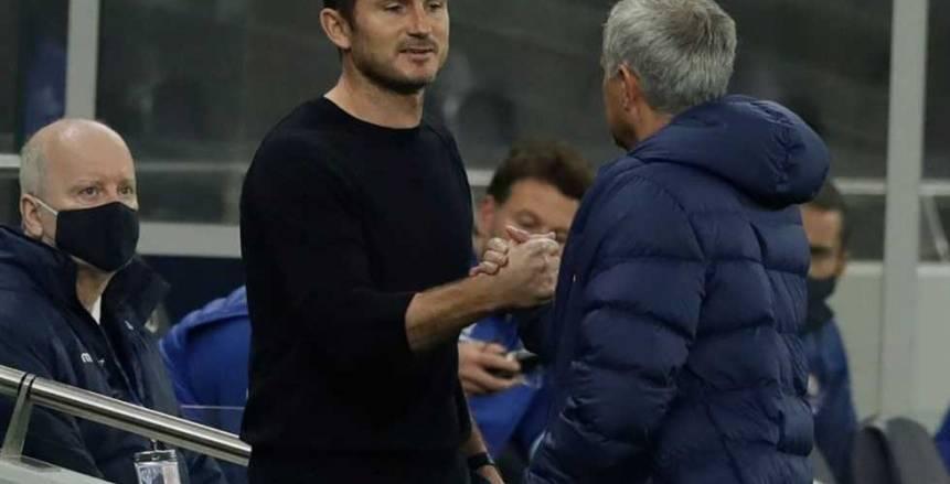 """""""اللعنة يا فرانك"""".. لامبارد ومورينيو يتحدثان عن مشادة مباراة الكأس"""