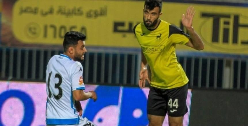 مباراة بيراميدز ودجلة في الدوري المصري