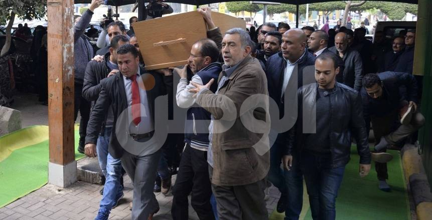 جنازة الكاتب خالد توحيد