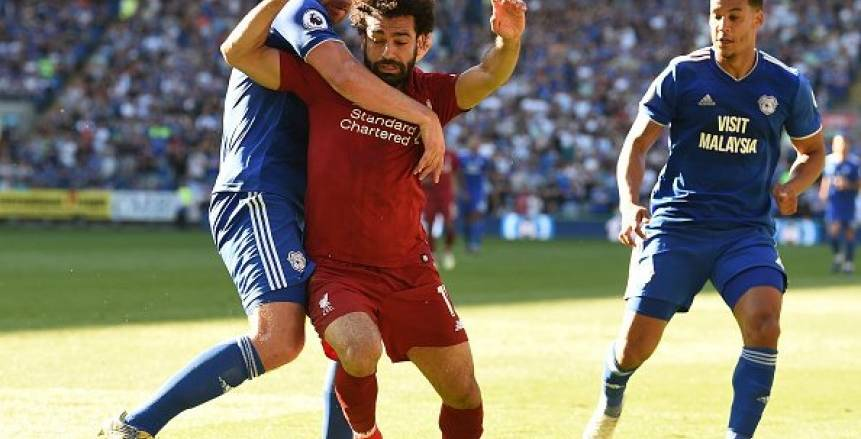 بالفيديو.. شاهد خناقة محمد صلاح وميلنر على تسديد ضربة جزاء ليفربول أمام كارديف