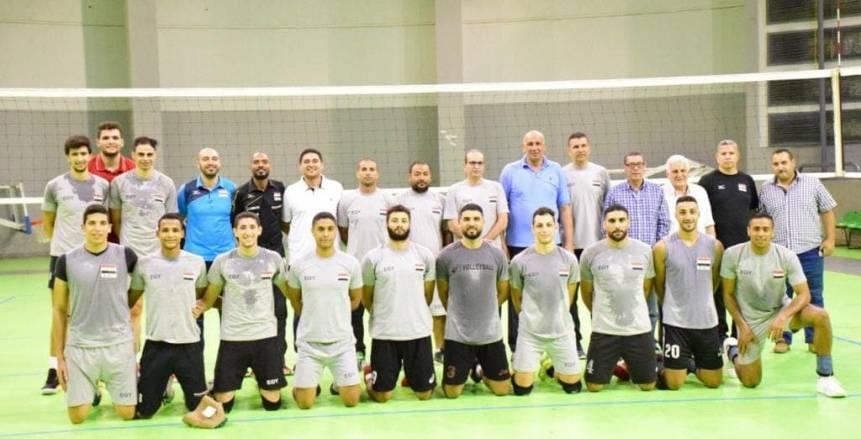 بالصور| الجهاز الفنى للطائرة يختار 12 لاعبًا للمشاركة فى البطولة العربية