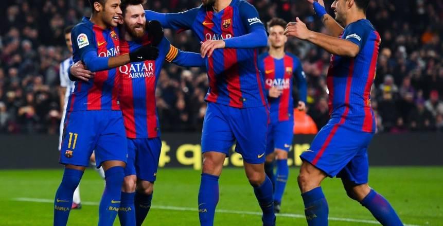 برشلونة يسحق سوسيداد بخماسية ويصعد للدور نصف النهائي من كأس ملك أسبانيا