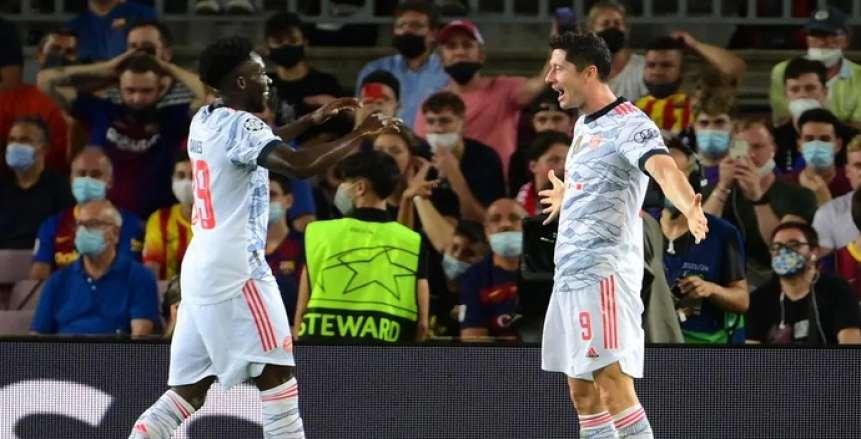 بايرن ميونيخ يسحق بنفيكا برباعية في دوري أبطال أوروبا
