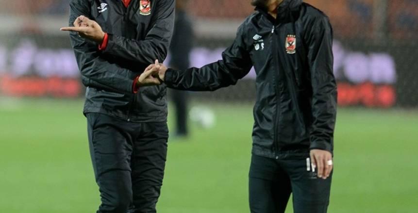 الظهور الأول لكهربا مع النادي الأهلي في مواجهة فريق مصر