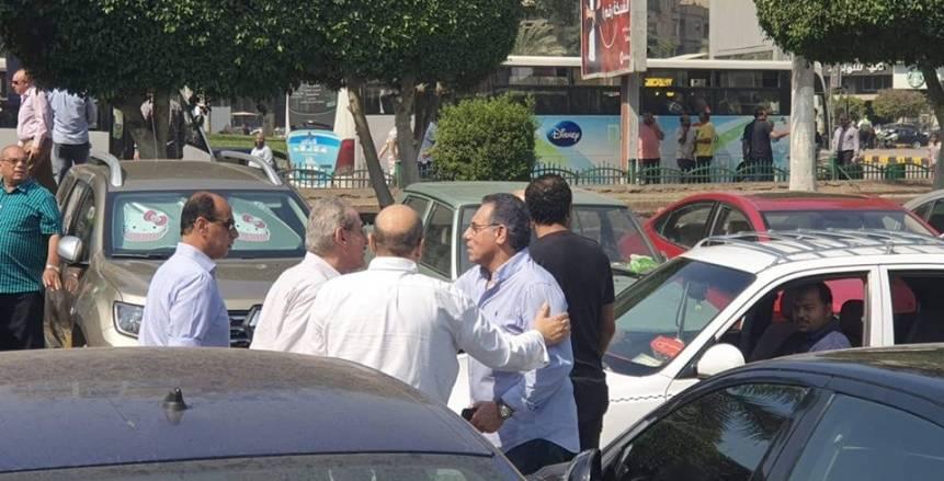 بالصور.. تشييع والدة علاء عبدالصادق عضو لجنة الكرة بالأهلي الأسبق
