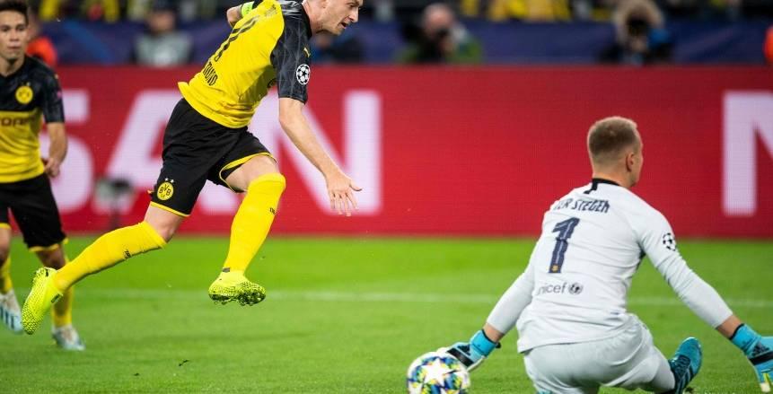 دوري أبطال أوروبا.. برشلونة 0 × 0 بروسيا دورتموند..نهاية اللقاء
