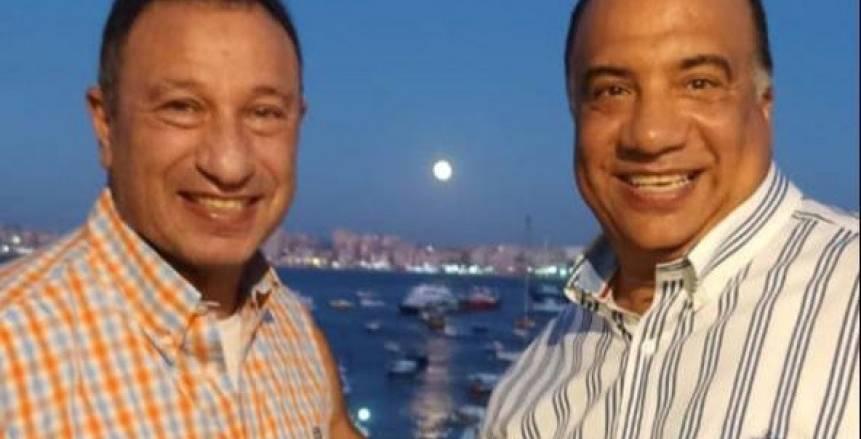 الخطيب يزور الإسكندرية فجرا ويلتقي محمد مصيلحي (صورة)