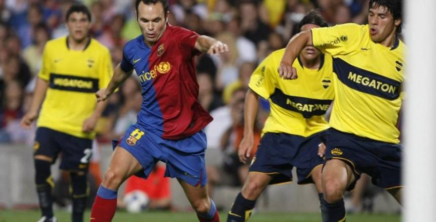 برشلونة يواجه بوكا جونيورز الأرجنتيني في كأس خوان جامبر