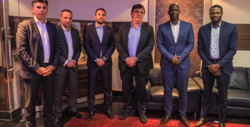 مسؤولو الاتحادين الافريقي والاوروبي في نصف نهائي دوري الابطال