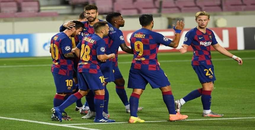 أتلتيكو مدريد يتقدم على برشلونة بهدف نظيف في الشوط الأول (فيديو)
