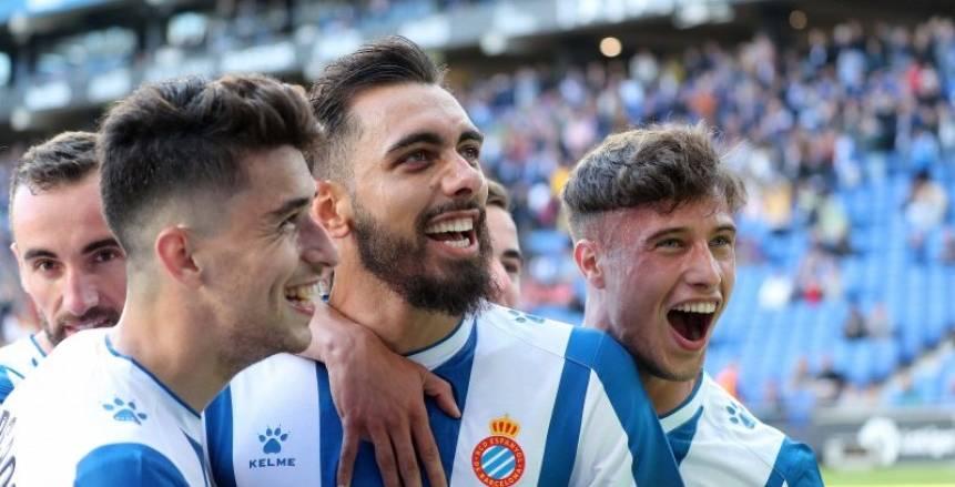 لقطات من فوز إسبانيول على أتلتيكو مدريد بثلاثية نظيفة في الدوري الإسباني