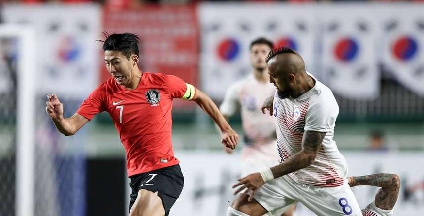 بالفيديو  «نجم كوريا الجنوبية» ينتقم من عنصرية «لاعب تشيلي» بلمحة مهارية رائعة