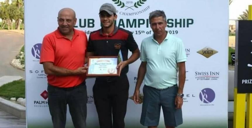 ماجد عبد التواب يتأهل إلى نهائي بطولة بيارتز الدولية للجولف