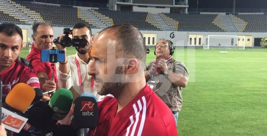 جمال بلماضي: هدفنا التتويج بأمم أفريقيا.. وحرارة القاهرة تخدم المصريين