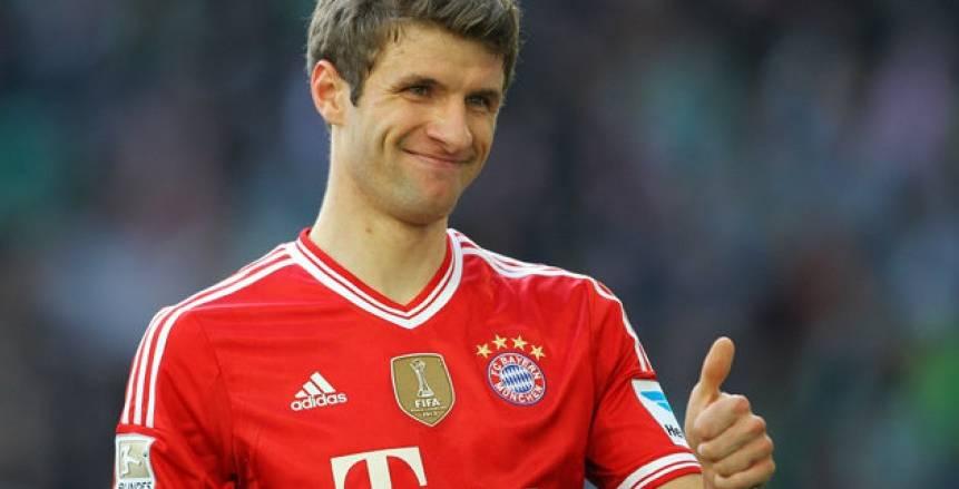 مولر يعادل رقم دي بروين التاريخي بالدوري الألماني