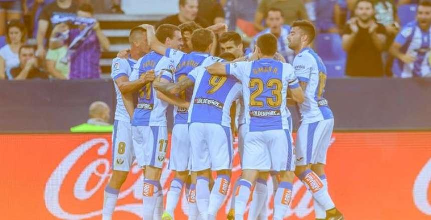 ليجانيس يفتتح الدوري الإسباني بالفوز على ديبورتيفو ألافيش