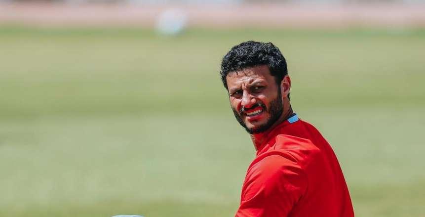 عماد متعب: أدعم الزمالك أمام الرجاء وأرحب باحتراف محمد الشناوي (فيديو)
