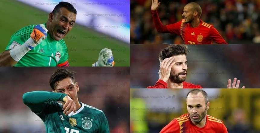 مونديال روسيا 2018.. كتب نهاية 5 نجوم