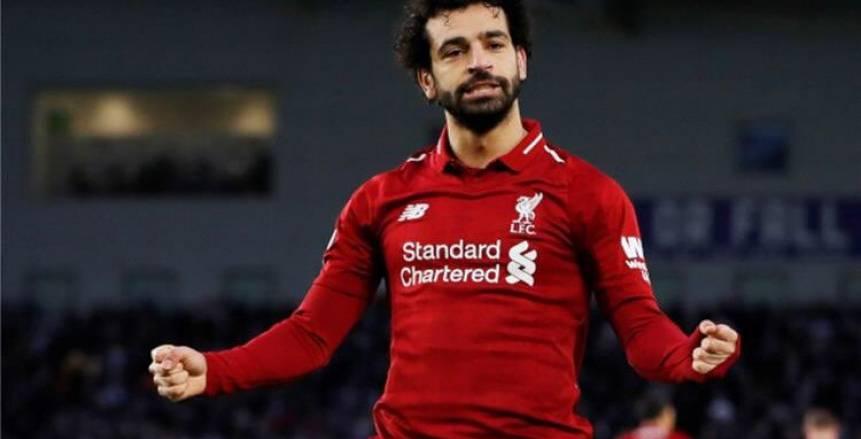 """بصورة مع لاعبي ليفربول.. """"صلاح"""" يحتفل ببطولة الدوري الإنجليزي: أشكر بلدي الحبيب مصر"""