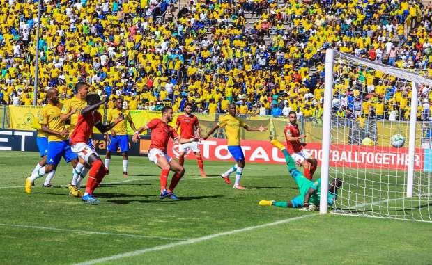 مباراة الإياب بين الأهلي وصن داونز في عام 2020