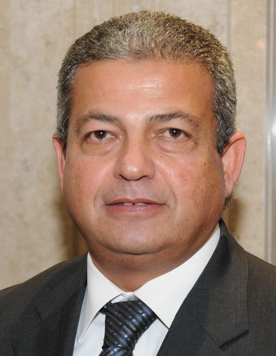 وزير الرياضة يشهد البروفات النهائية لحفل افتتاح البطولة الإفريقية لكرة اليد بالصالة المغطاة بإستاد القاهرة
