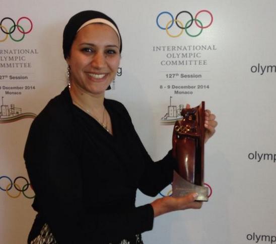 توماس باخ يعين أية مدني عضوه بلجنة العلاقات العامة والتطوير الرياضي باللجنة الاولمبية الدولية