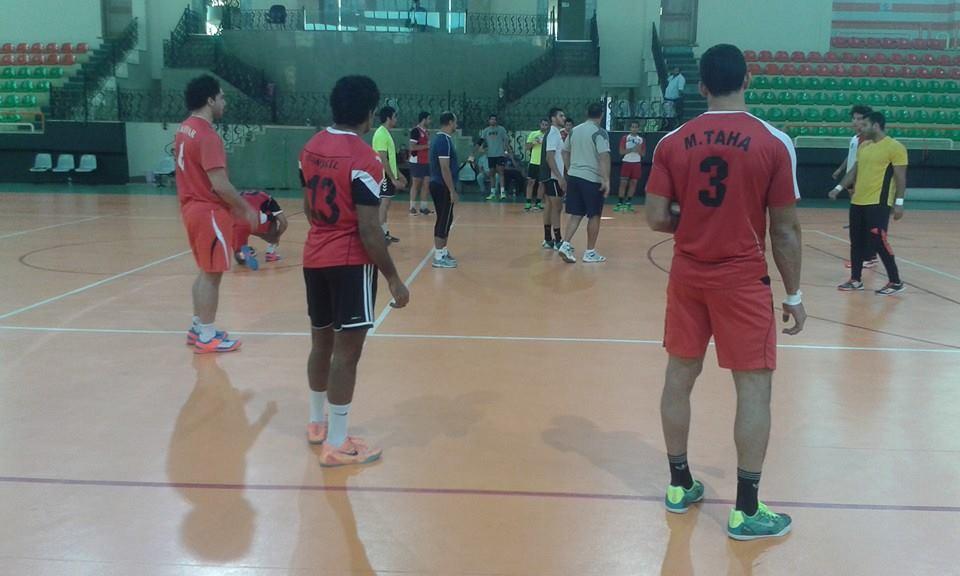 بالصور| منتخب مصر لليد يواصل تدريباته استعدادا لمونديال قطر