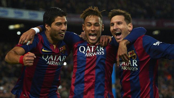 MSN يتفوق على فريق ريال مدريد بالكامل